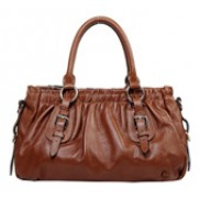 Julie Leather Bag Brown