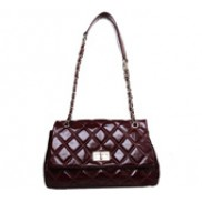 Jennifer Flap Bag Oil-tanned Leather Burgundy