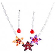 Nancy Jewelry Sets With Swarovski Elements Rhinestone Multicolor