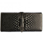 Cameron Long Wallet Croc Effect Black