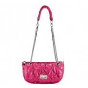 Muriela Quilted Shoulder Chain Hot Pink