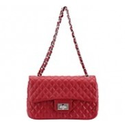 The Obligatory Classic Flap Bag Leather Red