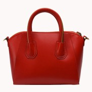 Annette Leather Bag Hot Red