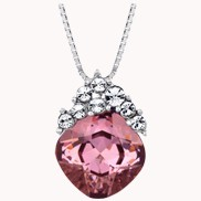 Charming Girl Necklace Garnet