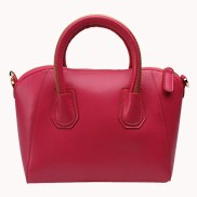Annette Leather Bag Hot Pink