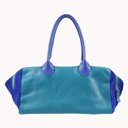 Dianne Leather Bag Blue