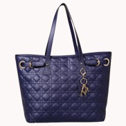 Julianne Leather Tote Bag Blue