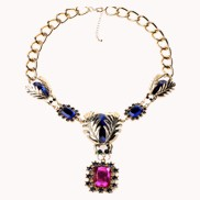 Regal Gemstone Necklace