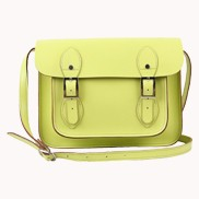 Sissy Cross Body Leather Small Bag Green