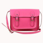 Sissy Cross Body Leather Small Bag Pink