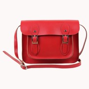 Sissy Cross Body Leather Small Bag Red