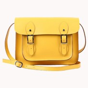 Sissy Cross Body Leather Small Bag Yellow