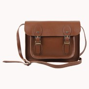 Sissy Cross Body Leather Small Bag Brown