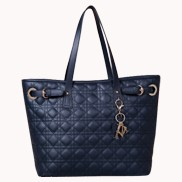 Julianne Leather Tote Bag Black