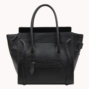 Vanessa Medium Tote In Leather Black