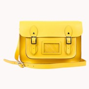 Sissy Cross Body Leather Bag Yellow