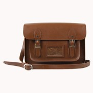 Sissy Cross Body Leather Bag Brown
