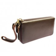 Super Organizer Purse Leather Choco